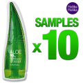 Holika Holika Aloe 99% Soothing Gel Sample 10pcs  50ml Moisturizers Original Korea Natural Cosmetic