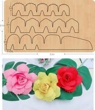 Flores plegables 3 DIY nuevos troqueles de madera para el espesor de la colección de recortes/15,8mm/YY34