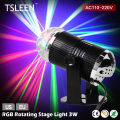 TSLEEN 2017 Big Promotion +Hot Sale+ LED Stage Lighting DJ Disco Club Wedding RGB Laser Effect Rotating Ball Lamp