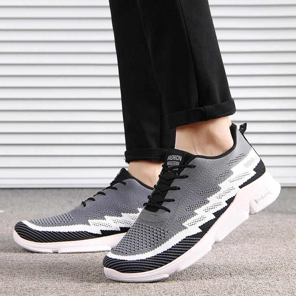 2019 frühling Sommer Neue Mode für Männer Atmungsaktivem Mesh Schuhe Turnschuhe Casual Schuhe Student Männer Ventilation Laufschuhe