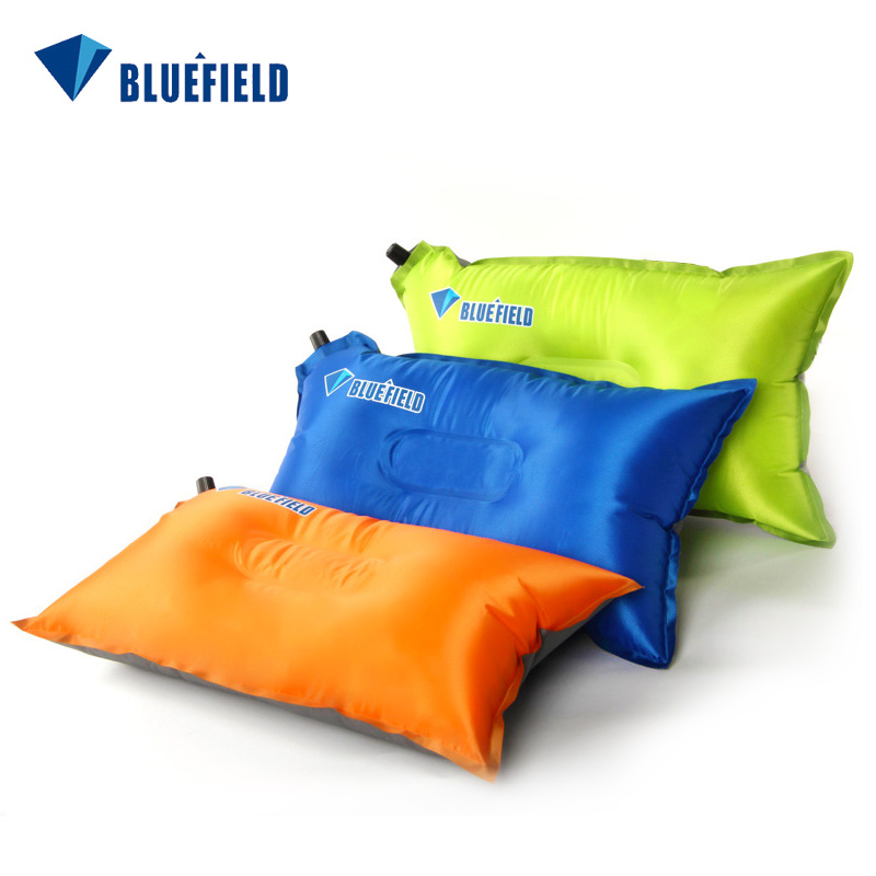 Portable Automatic Inflatable Pillow Folding Aviation Comfortable Automatic Air Pillows 3 Colors Camping Travel Cushion Pillow цены онлайн