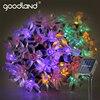 Goodland 5M Solar LED String Lights Waterproof LED Light Outdoor Garden Lighting For Christmas Festival Party