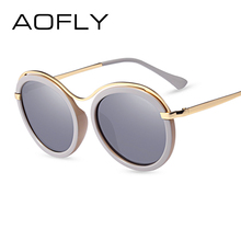 e6973860ae1 AOFLY Brand 2017 Fashion Sunglasses Women Design Sun Glasses Female Mirror  Lens Lunettes de soleil Shades With Case UV400 AF7910