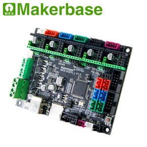 Image 2 - Makerbase MKS SGen_L V1.0  3D Printer Parts 32Bit Control Board  approval TMC2208 TMC2209 TMC2225  uart mode
