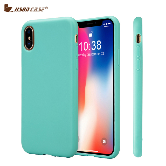 iphone x custodia silicone