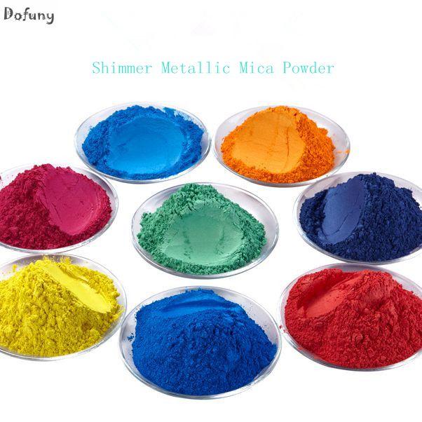 500g Poudre De Perle Pigment pour ombre à paupières Vernis À Ongles Mica Glitter Nacré Poudre Cosmétique Flash Poussière Colorant Savon Pigment
