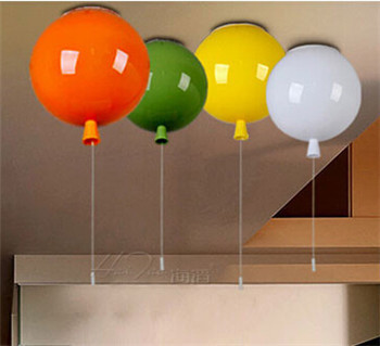 modern multicolour child bedroom balloon ceiling lamp  acrylic round ball ceiling light child light DY-1418 ao058m 2m hot selling inflatable advertising helium balloon ball pvc helium balioon inflatable sphere sky balloon for sale