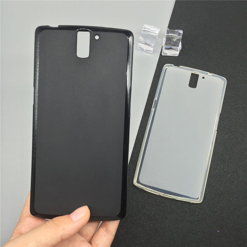 Soft Silicone Phone Cases for <font><b>Oneplus</b></font> 1 / <font><b>One</b></font> Plus <font><b>One</b></font> <font><b>A0001</b></font> 5.5 inch Original TPU <font><b>Back</b></font> Cover Pudding Case Capa Fundas image
