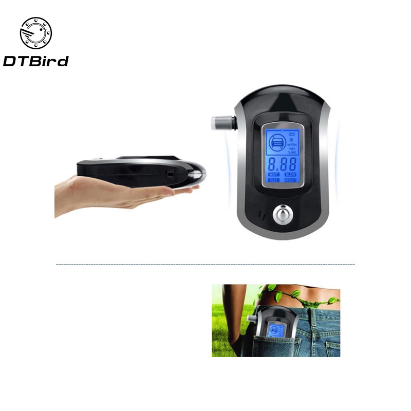 Fast Deliver Prefessional Portable Breath Alcohol Tester At6000 Alc Smart Breath Alcohol Tester Digital Lcd Breathalyzer Analyzer Agreeable To Taste Measurement & Analysis Instruments