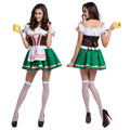 Traditional German Bavarian Beer Maid Costume Sexy Oktoberfest Festival Carnival Party Fancy Cosplay Dress German Wench