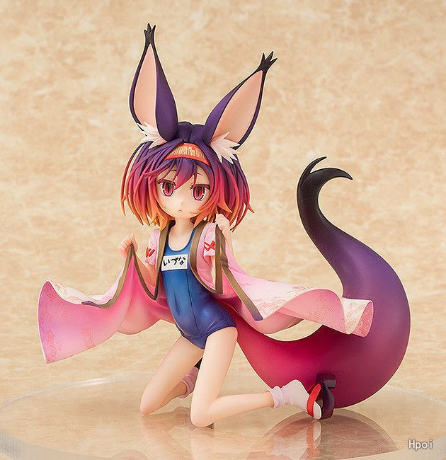 Anime No Game No Life Hatsuse Izuna Sexy Girls Game of Life PVC action figure model Toy 1pc furniture handles vintage butterfly cabinet knobs and handles ceramic door knob cupboard dresser drawer kitchen pull handle