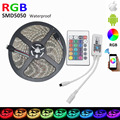 Waterproof RGB LED Strip SMD 5050 5m 300leds + Wifi LED RGB Controller DC12V 60LED/m RGB Flexible LED Light