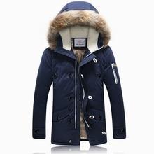 2016 Winter Brand Men Down Jacket Fur Hood With Cashmere Plus Size XXXL Winter Jacket High Quality Fashion Men's Coat Hot Sale20
