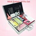 Professional Falso Eye Lash Eyelash Extension Completa Kit de Ferramentas Cola Conjunto Com Caso