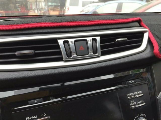 Auto interior air conditioning vent trims for  Nissan Qashqai 2015,Type B ,auto accessories