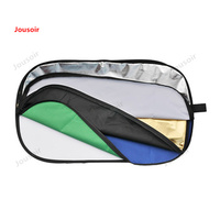 Godox 150*200 Oval seven in one reflector soft plate outdoor portrait shooting equipment background keying T03 NO00DG