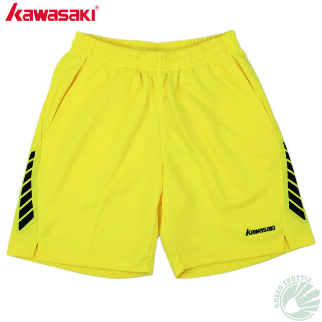 really cheap lowest discount latest design US $29.8 |Aliexpress.com : Buy 2017 Original Kawasaki Badminton Shorts For  Men And Women Breathable Knitted Sweat Absorbant Sport Bottom Unisex Shorts  ...