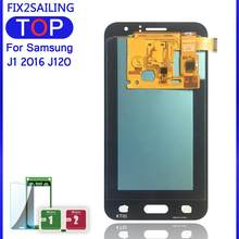 Lcds J120 For Samsung Galaxy J1 J120F J120DS J120G J120M J120H J120 LCD Display with Touch Screen Digitizer Assembly Sensor