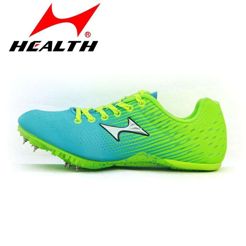 HEALTH sprint jump special nail race spikes of men  nail running shoes women students senior high school entrance examination цены онлайн