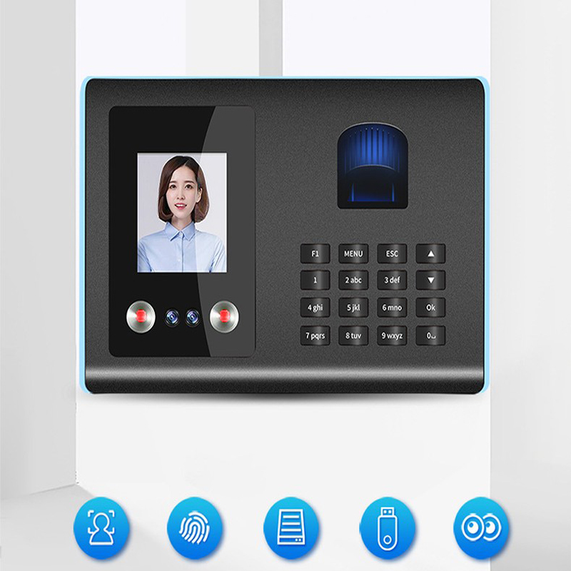 Fingerprint Face Recognition Attendance Machine