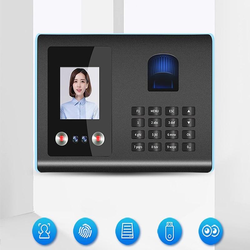 Fingerprint Face Recognition Attendance Machine