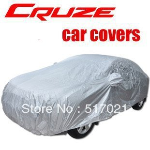 FREESHIPPING Chevrolet Chevy Cruze polyester taffeta+pvc coating Car Covers easy to take Reduce car temperature