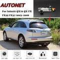 AUTONET HD Night Vision câmera de Visão Traseira de Backup Para Infiniti FX QX QX70 FX35 FX37 2003 ~ 2008 CCD/ placa de licença Da Câmara ou Suporte