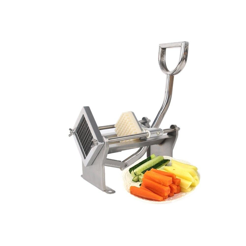 GZZT ручной резак для картофеля фри из нержавеющей стали MH005 для изготовления картофельных чипсов, овощерезка для фруктов, кухонные инструмен... - 5