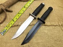 2 Options Cold Steel 39LSFD Leatherneck SF Fixed Knives D2 Blade ABS Handle Survival Knife Tactical Knife Camping Tool Free