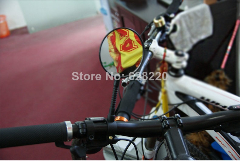 Fiets Stuur Spiegels : Fiets fiets fietsen spiegel stuur glas groot achteraanzicht zwart in