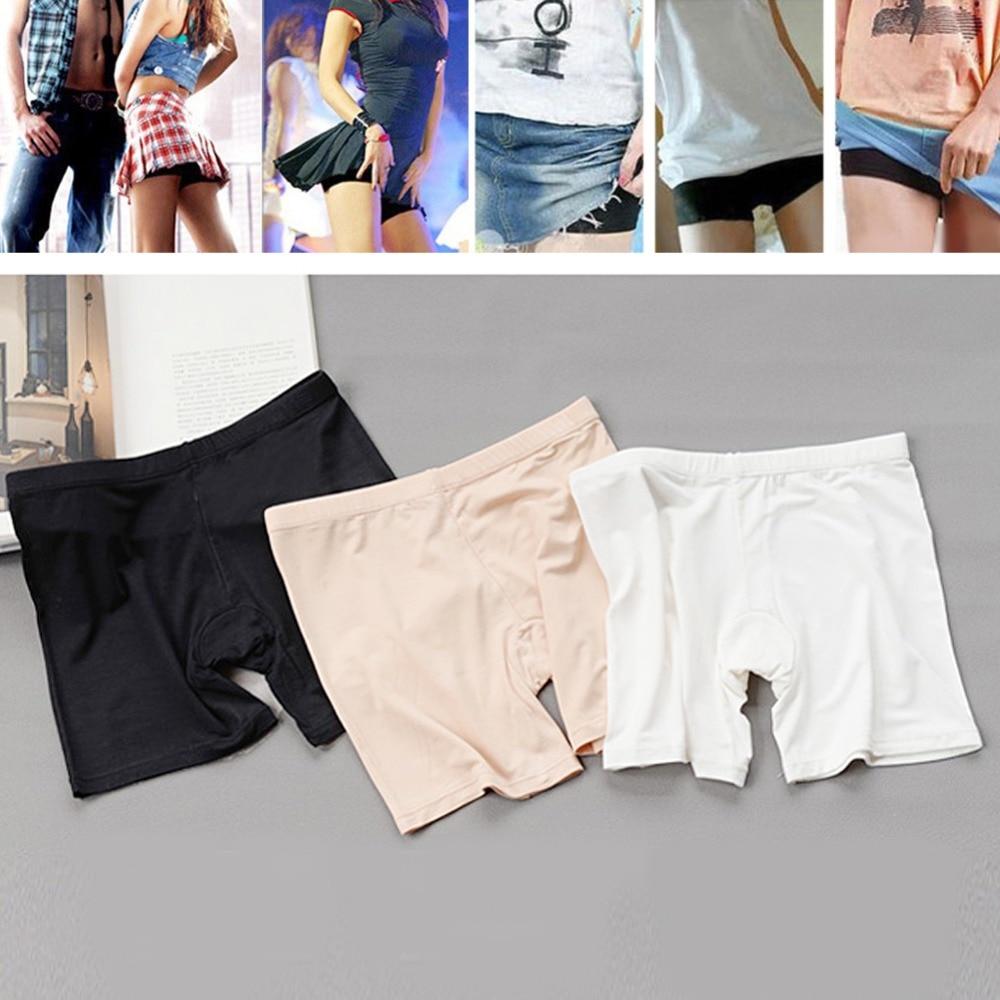 Womens Ladies Dancing Short Tights Spandex Elastic Pants Safety Underwear