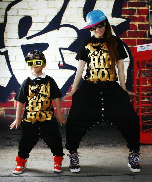 hip hop costume rapper fancy dress childrens outfit tops