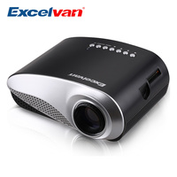 Excelvan RD802 Portable Projector Home Theater LED&LCD Projector 480*320P USB/VGA/HDMI Input, Build in Speaker Video Projector