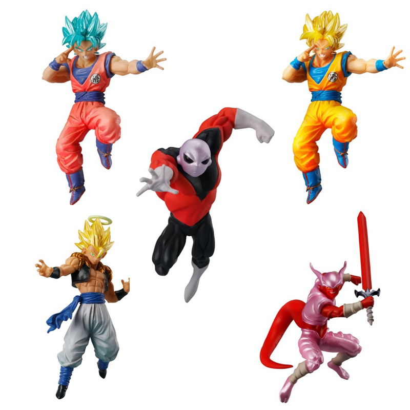 DragonBall Super Battle Figure Series VS Versus Part 04 Gashapon Toys ~ SS God Gokou Goku,Jiren,Janemba,Gogeta ~100%Original new arrival weijiang m03 battle blades battle hornet mp21 transformation metal alloy part figure toys