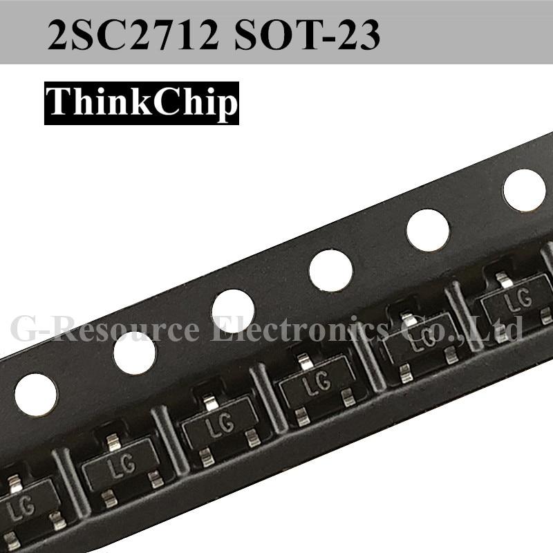 (100 Pcs) 2SC2712 SOT-23 SMD Triode TRANSISTOR (Marking LG)
