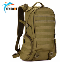Hot 35L Top Quality Waterproof Military Tactical Backpack Rucksacks Men Camouflage Outdoor Sports Bag Camping Hiking Bags