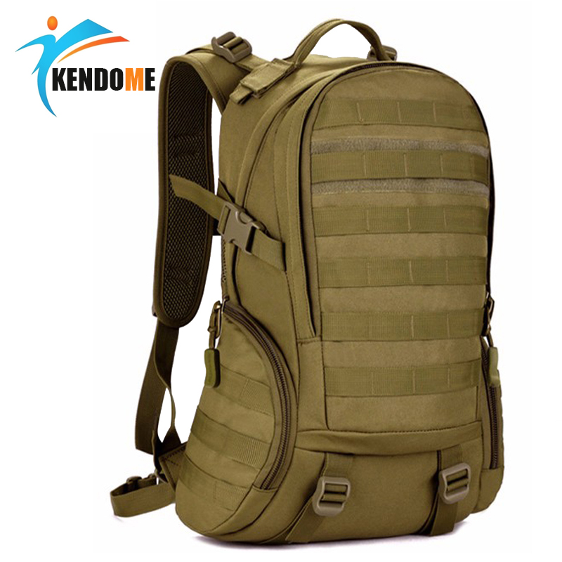 Hot 35L Top Quality Waterproof Military Tactical Backpack Rucksacks Men Camouflage Outdoor