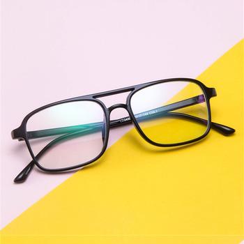 2020 okulary w stylu Retro rama kobiety mężczyźni okulary z przezroczystymi szkłami stylowe przezroczyste ochrona oczu Vintage jasne ramki okularów tanie i dobre opinie Kaleidoscope Glasses Unisex Z tworzywa sztucznego Stałe 2430 FRAMES Okulary akcesoria 200002197 200002143 4041gai