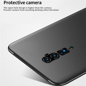 Image 5 - Pour Oppo Reno 10x étui de Zoom antichoc Silm luxe Ultra mince lisse étui de téléphone en pc couverture arrière pour Oppo Reno 10x Zoom Fundas