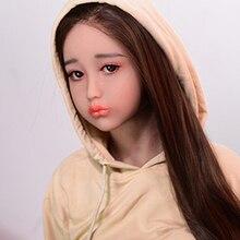 Секс куклы голова загар кожа металлический скелет силиконовая кукла оральный секс для мужчин любовь куклы голова подходит 135 см 176 см игрушки для взрослых доставка по DHL