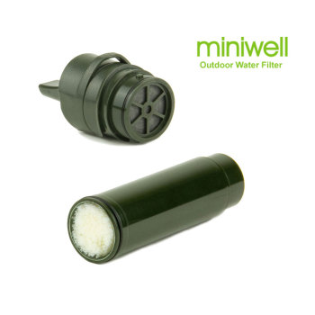 10 inch integrated hollow fiber ultrafiltration membrane water filter quick change uf filter element integrated filter core miniwell L600  filter replacements -- UF Filter and Carbon fiber filter(fit in miniwell L600 Straw Water Filter)