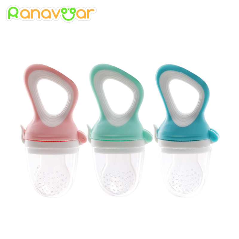 Baby Nipple Fresh Food Fruit Milk Feeding Bottles Nibbler Learn Feeding Drinking Water Straw Handle Teething Pacifier BPA Free