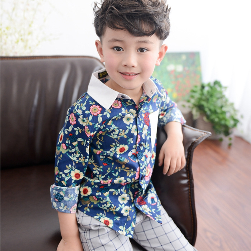 Online Buy Wholesale Floral Shirts Boys From China Floral Shirts Boys Wholesalers | Aliexpress.com