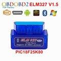 2016 Последняя Версия V 1.5 Белый Или Синий Цвет Elm327 V1.5 Супер Мини Elm327 Bluetooth для Беспроводной Elm 327 Bluetooth Бесплатно доставка