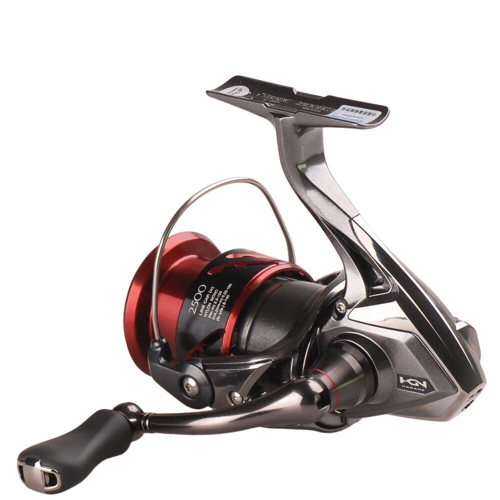 Shimano Reel STRADIC CI4+ 1000 1000HG 2500HG C3000HG 6.0:1/7BB Spinning Fishing Reel Hagane Gear X-Ship Pesca Moulinet Peche 6