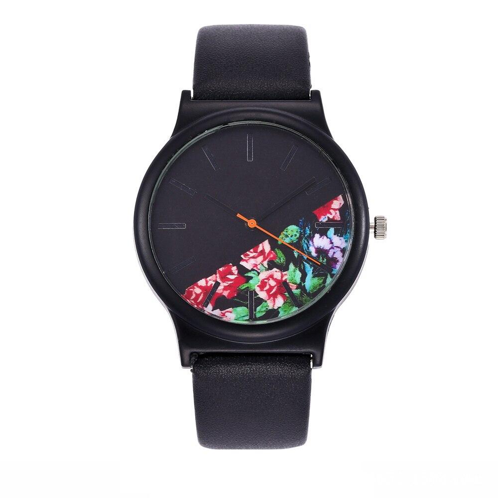 2018 Reloj de Flores Negras relojes de mujer marca de lujo famoso reloj femenino reloj de cuarzo reloj de pulsera femenino Relojes de Acero para hombre, reloj de cuarzo de lujo para hombre, reloj de pulsera de 50m para hombre, para deportes acuáticos, 2017, reloj masculino