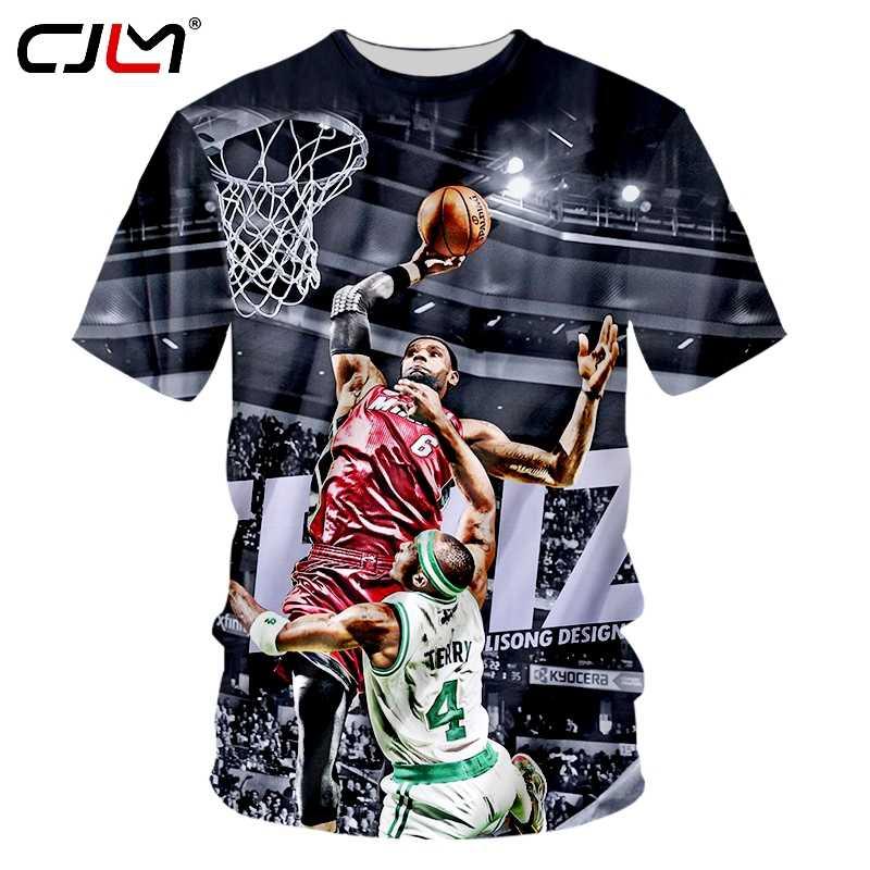 b017a8c6660 CJLM Dropshipping Jersey Jordan Men'Cool Print Michael Jordan Fans Retro 3D  T-shirts