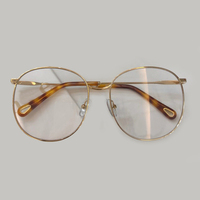 Alloy Frame Eyeglasses For Women Vintage Round Glasses Frame Women 2019 New Prescription Spectacles Eyeweare With Packing Case