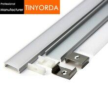 Tinyorda 100Pcs (2M Length) Led Strip Profile Led Channel Profil for 20mm LED Strip Light Professional ManufacturerTAP2406