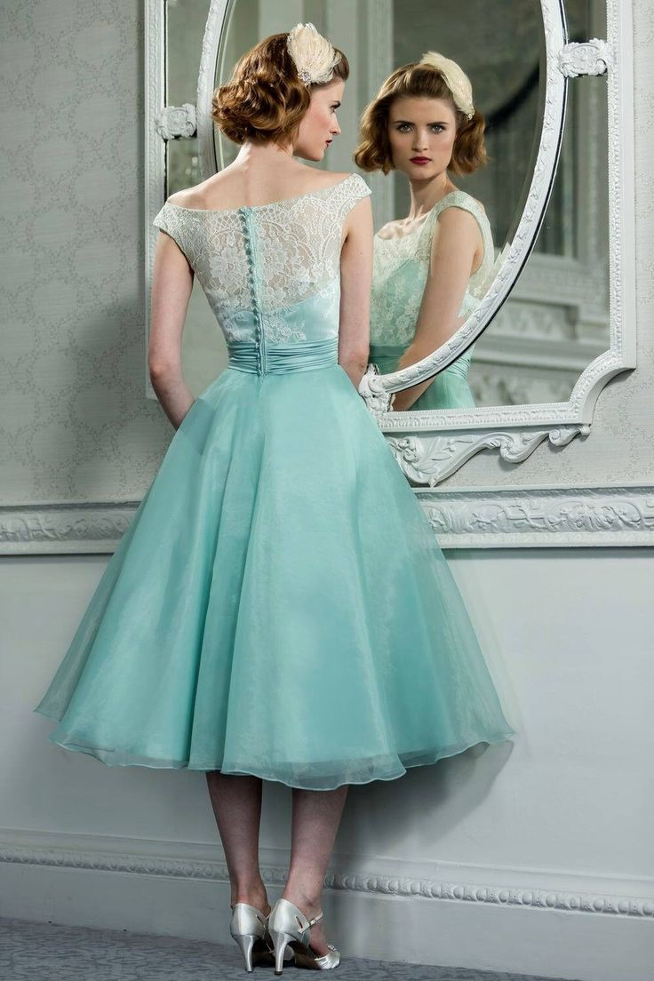 Tea Length Evening Dresses 2015 Summer Style Scoop Lace Ruffled ...